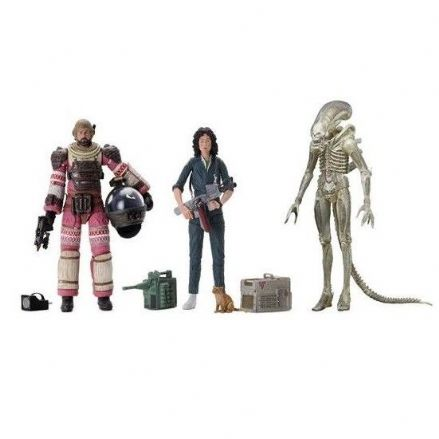 NECA Alien 40th Anniversary Action Figure 3-Pack (Wave 1)
